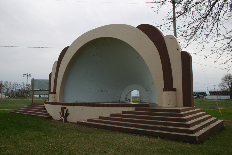 City Park Band Shell, Belleville