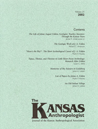 Kansas Anthropologist
