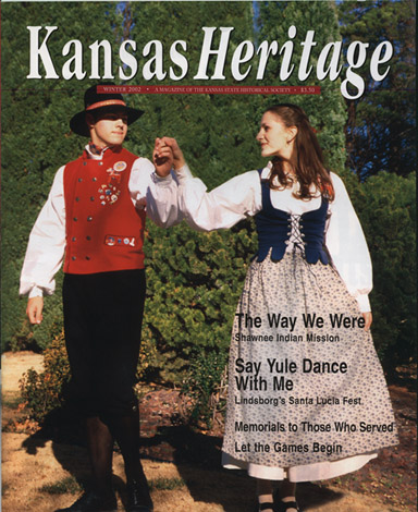 Kansas Heritage, Winter 2002