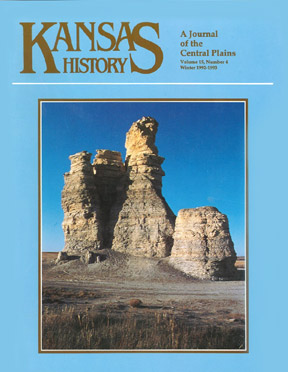 Kansas History, Winter 1992