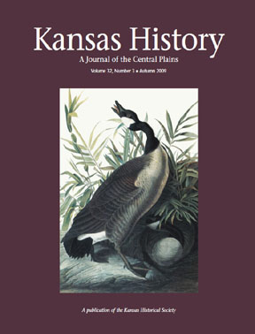 Kansas History, Autumn 2009
