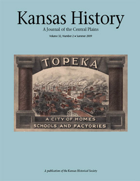 Kansas History, summer 2009 issue