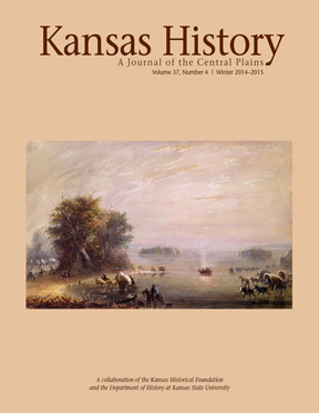 Kansas History, Winter 2014-2015