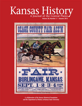 Kansas History, Autumn 2015