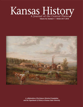 Kansas History, Winter 2017/2018