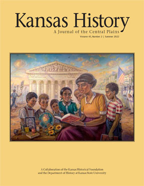 Kansas History, current issue