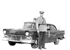 Historic Kansas Highway Patrol trooper