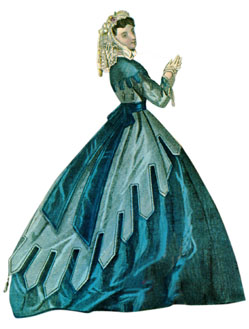 Dress from the 1860s