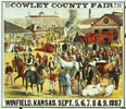 Cowley County Fair poster