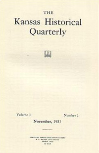 Kansas Historical Quarterly, November 1931