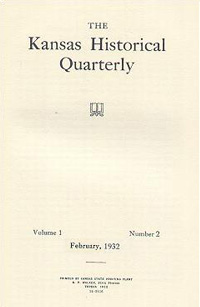 Kansas Historical Quarterly, February 1932