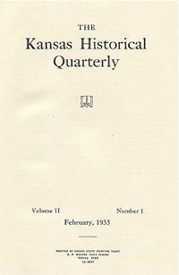 Kansas Historical Quarterly, February 1933