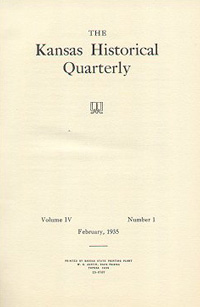 Kansas Historical Quarterly, February 1935