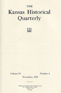 Kansas Historical Quarterly, November 1935