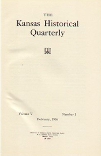Kansas Historical Quarterly, February 1936