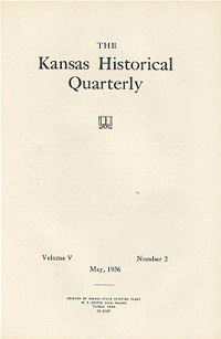 Kansas Historical Quarterly, May 1936