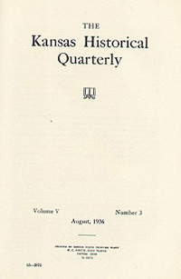 Kansas Historical Quarterly, August 1936