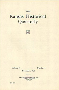 Kansas Historical Quarterly, November 1936