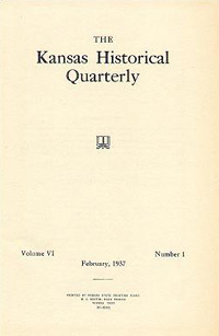 Kansas Historical Quarterly, Februrary 1937