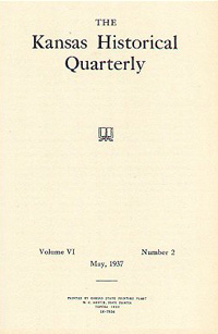 Kansas Historical Quarterly, May 1937