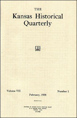 Kansas Historical Quarterly, February 1938