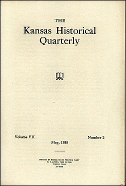 Kansas Historical Quarterly, May 1938