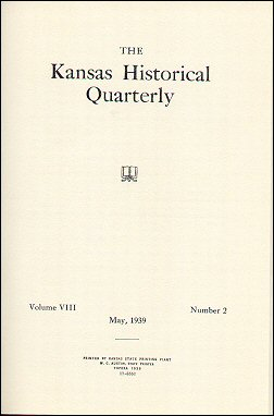 Kansas Historical Quarterly, May 1939