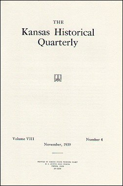 Kansas Historical Quarterly, November 1939