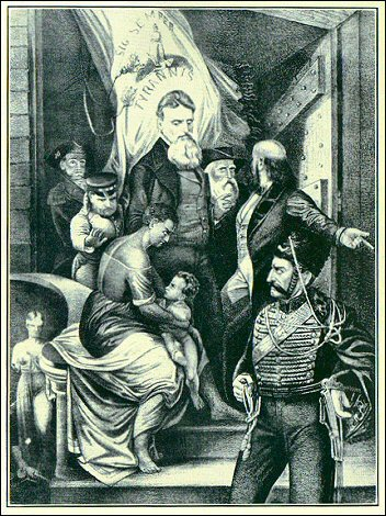 [Depiction of John Brown on his way to the gallows-1.]