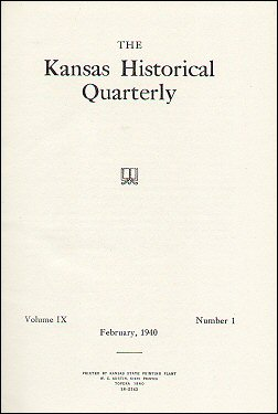 Kansas Historical Quarterly, February 1940