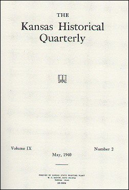 Kansas Historical Quarterly, volume 9, number 2