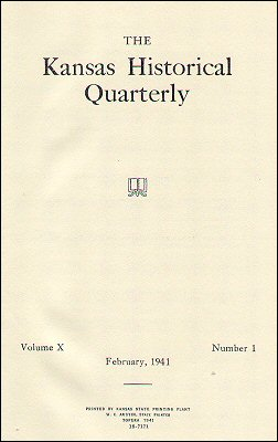 Kansas Historical Quarterly, February 1941