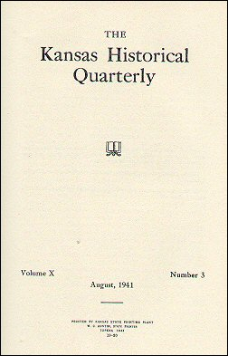 Kansas Historical Quarterly, August 1941