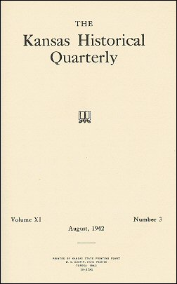 Kansas Historical Quarterly, August 1942