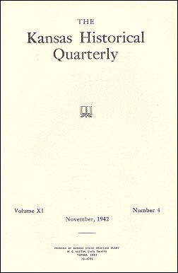Kansas Historical Quarterly, November 1942