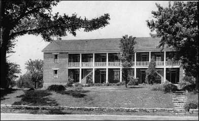 [Photograph of Exterior of the Shawnee Mission.]
