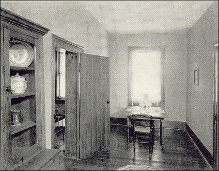 [Private Dining Room of the Johnson Family.]