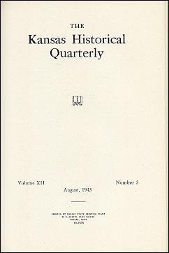 Kansas Historical Quarterly, August 1943