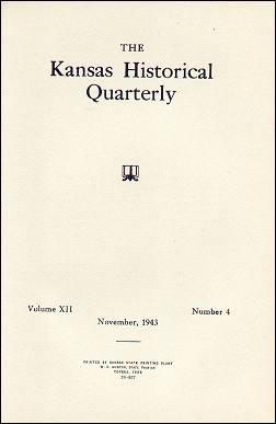 Kansas Historical Quarterly, November 1943