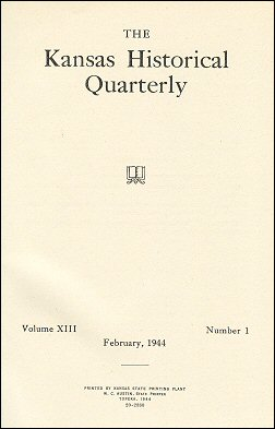 Kansas Historical Quarterly, February 1944