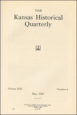 Kansas Historical Quarterly, May 1945