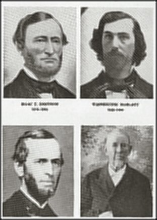 [Pictures of the founders of Bluemont College.]