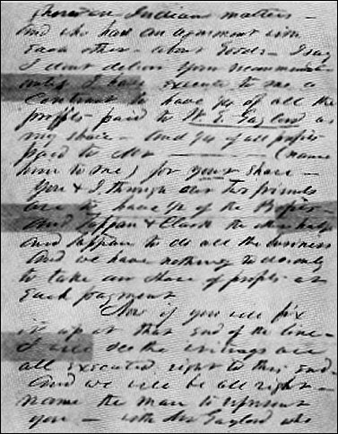 [Second page of the 'ross letter.']
