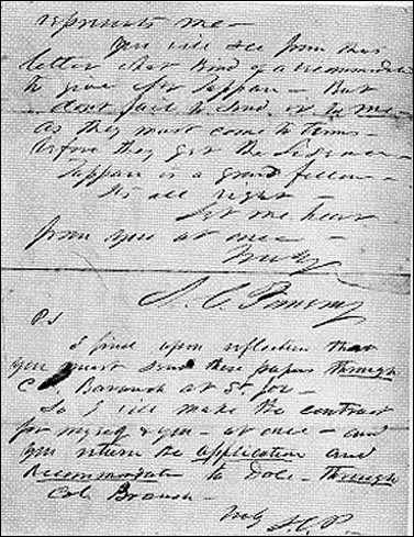 [Third page of the 'ross letter.']