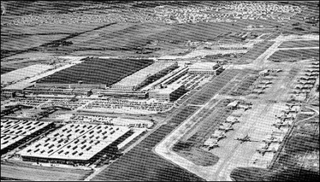 [Aerial view of Boeing plant near Wichita.]