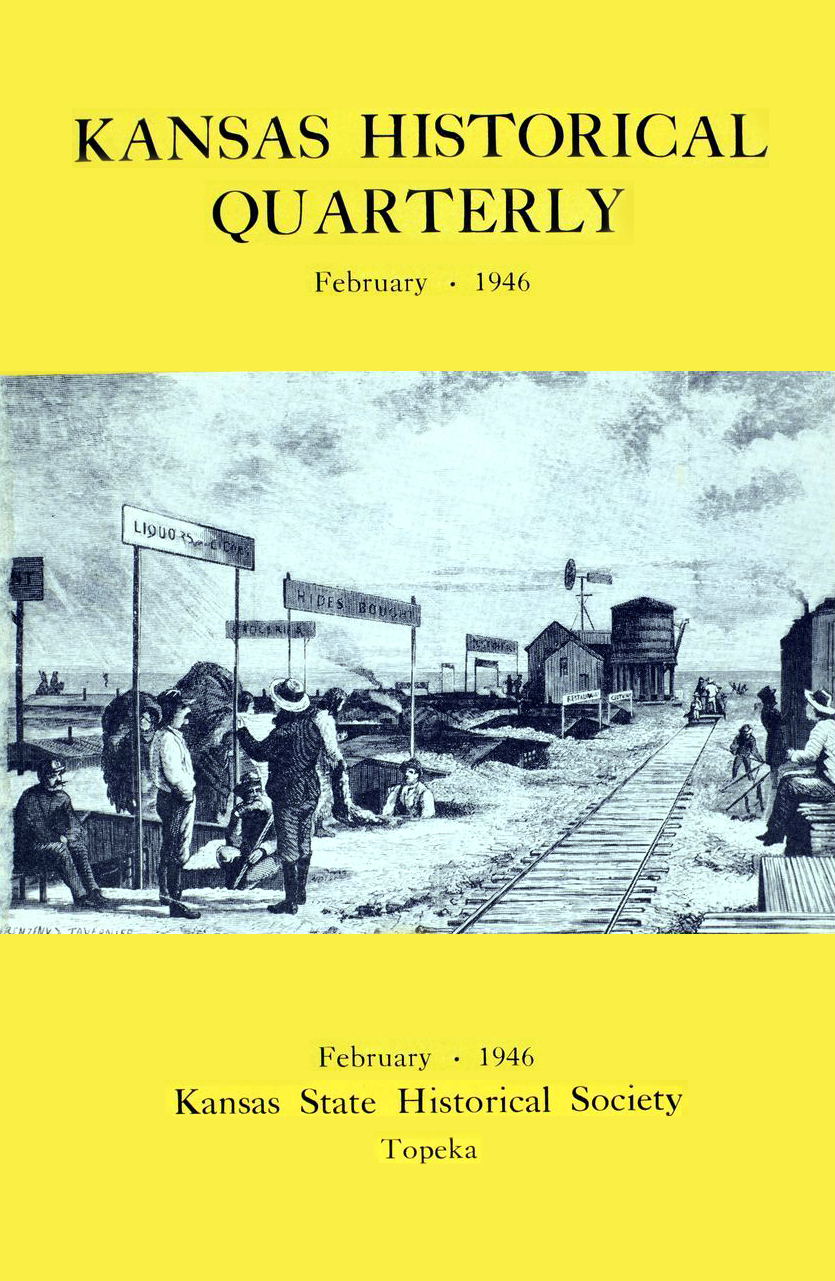 Kansas Historical Quarterly, February 1946