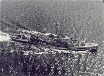 U.S.S. Kendall C. Campbell, named in honor of Ens Kendall Carl Campbell of Garden City KS