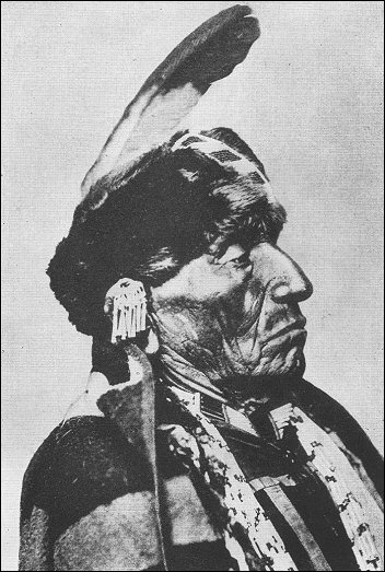 [portrait of Indian chief]