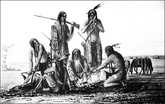 A group of Sioux Indians