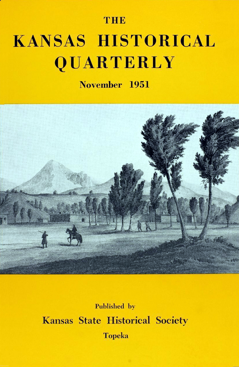 Kansas Historical Quarterly, November 1951